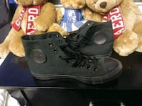 All black chuck Taylor's/ worn 1 time Charlotte, 28208