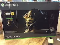 X box one X 1tb game system  including controller and 1 month X box live gold  Baltimore, 21205