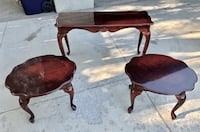 Sofa and End Tables Set Sandy