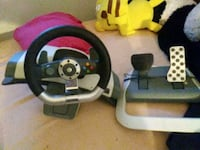 Steering wheel and pedals for Xbox 360 Oklahoma City, 73127