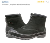 New Women's 7.5 ClarksSnow/RainBoots (Retail $130) 46 km