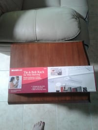 Tie and belt rack. Never used. Still in box  Summerfield, 34491