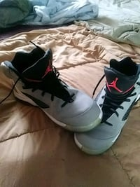pair of white-and-black Nike basketball shoes West Valley City, 84120