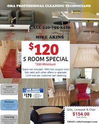 Carpet cleaning!!!!!!! OMA Professional Cleaning Technicians  Alexandria