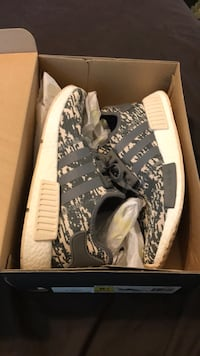 Pair of gray adidas nmd shoes Hendersonville, 28739