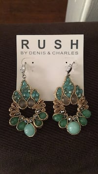 Rush by Denis & Charles earrings Washington, 20011