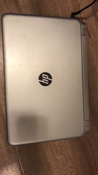 gray hp laptop with dre dr beats speakers  3724 km