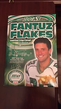Fantuz flakes cereal box. Excellent condition I have 2