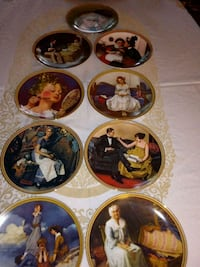 Norman Rockwell collector plates 9 Fridley, 55432