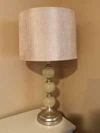 $25.00 Each White and brown table lamp 2/ $50.00 Old Orchard Beach, 04064