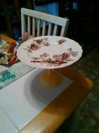 white and red floral ceramic bowl Sunbright, 37872