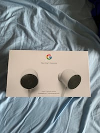 GOOGLE Nest Cam Outdoor x2