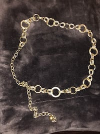 silver chain link necklace with pendant Falls Church, 22042