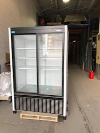 black and gray commercial refrigerator Montréal, H1P 3N7