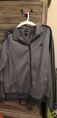 gray and black Adidas zip-up jacket Mobile, 36618