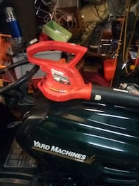 Electric leaf blower forty bucksblower to speed