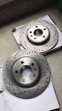 Audi A4 B8 Rear Drilled Discs