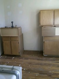 Use kitchen cabinets