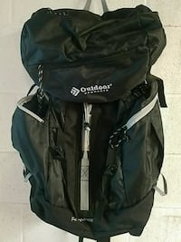 black and blue The North Face backpack Johnstown
