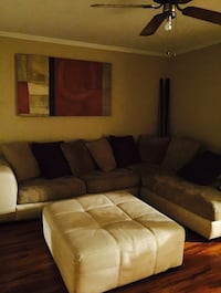 Sectional with Swivel Chair and Ottoman Jackson