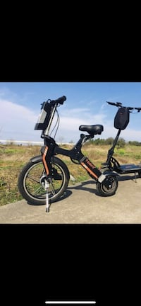 Electric 2 wheel bicycle 250 watts. 18mph top speed