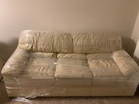 Brand new leather couch shrunk wrapped to avoid any damage  Montgomery Village, 20886