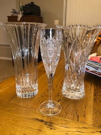 Crystal vases and champagne flute Dumfries, 22025