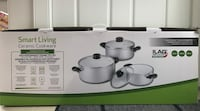 6 pc set kitchen ceramic cookware Coquitlam, V3E 0B1