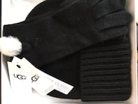 UGG winter wool blend hat & gloves in box $40 North Potomac, 20878