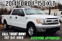 2014 Ford F-150 XLT!! Everyone approved!! Call Trent now Levittown