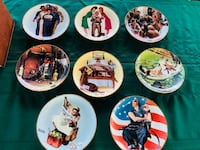 8 new norman Blackwell collector plates military theme Bay Lake, 32830