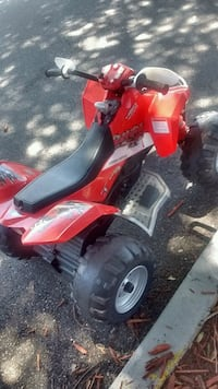 Peg perego red outlaw battery operated riding toy Jacksonville