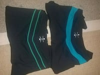 black and green Under Armour shorts Victoria