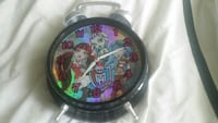 black and grey Monster High alarm clock Brampton, L6Y