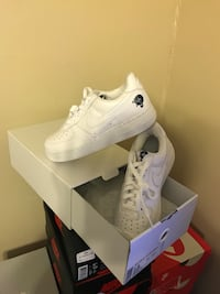 Limited Edition Nike Air Force 1 Low Rocafella Size 7.5 New Sunrise, 33351