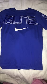 blue Nike Elite crew-neck t-shirt
