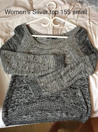 Gray scoop-neck shirt Sudbury, P3A 3T5