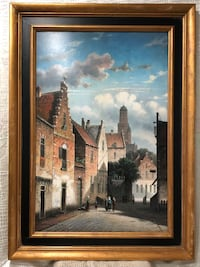 Oil on Canvas painting by super listed artist David Ronald. Springfield, 22153