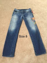 Girls true  religion jeans.