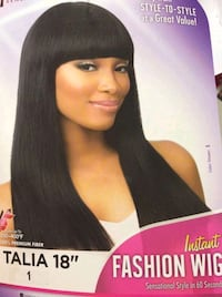 NEW BLACK BLUNT CUT WIG STRAIGHT Indianapolis, 46254