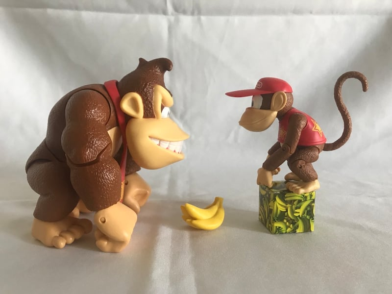 Donkey Kong country action figure set!! 05bf08a1-3a9e-4074-b053-12581aae3cc6