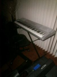 Casio wk-210 and chair Avondale Estates, 30002
