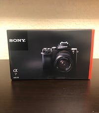 Brand new sony alpha a7 camera with 28-70mm lens Weston, 33326
