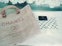 Authentic Tweed Chanel Pink Tote North East, 21901