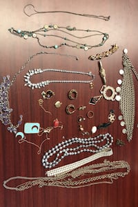 Mix of broken and costume jewelry  , T6S 1G3