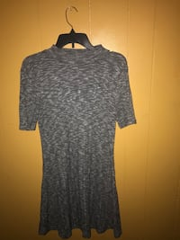 gray and black scoop-neck dress New York, 11203