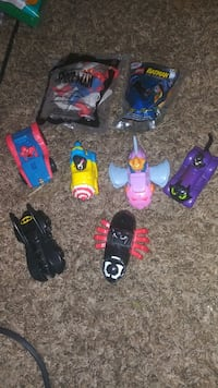 Spiderman & Batman Toys