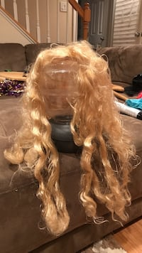 long yellow hair wig Chevy Chase, 20815