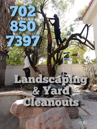 Landscaping Services Yard Design Junk Removal  Las Vegas