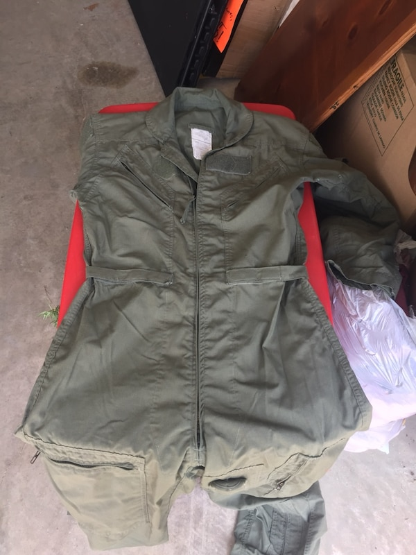 Used Military Flight Suit-38R MAKE ME AN OFFER for sale in San Antonio -  letgo 4526750508c